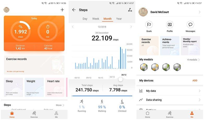 приложение для здоровья huawei
