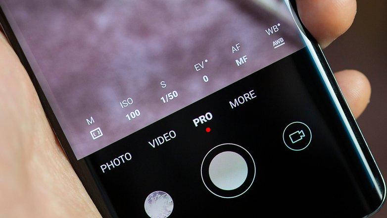 Режим AndroidPIT Firework Photos Pro