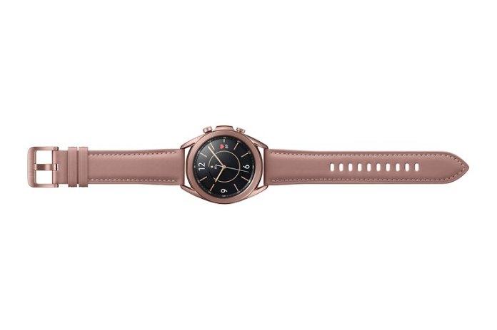 Samsung Galaxy Watch3 SM R850 BT 41mm Mystic Bronze Front offen RGB