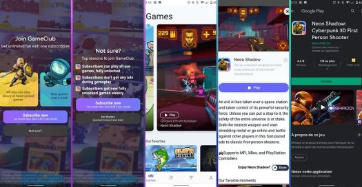 5 apps ios android semaine gameclub