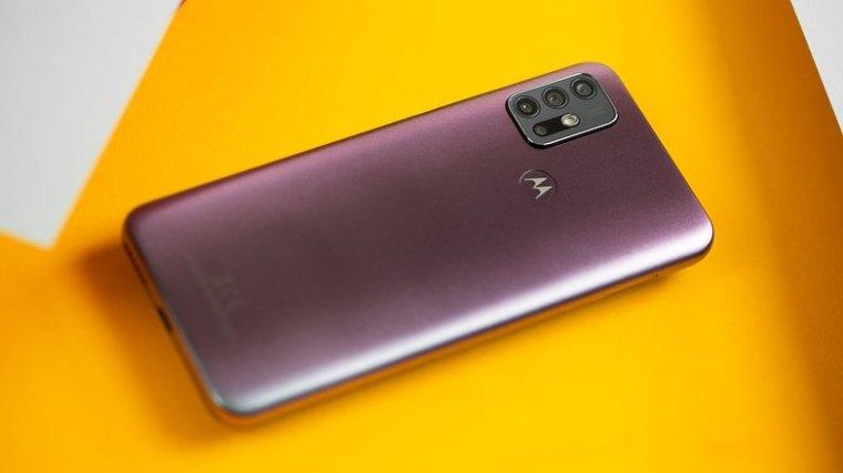 NextPit Motorola Moto G30 back