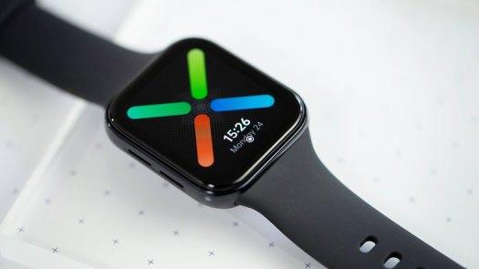 NextPit Oppo Watch screen
