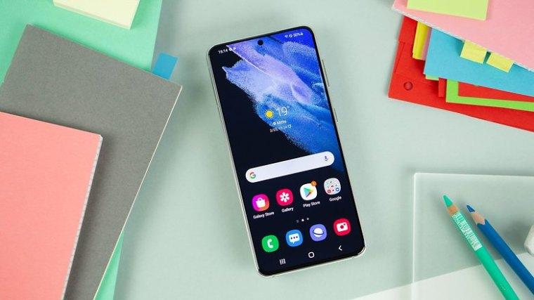 NextPit Samsung Galaxy S21 5G display