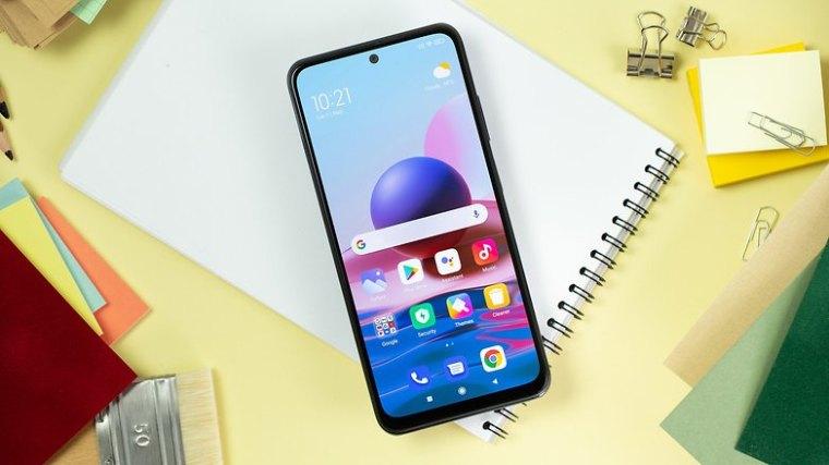 NextPit Xiaomi Redmi Note 10 display