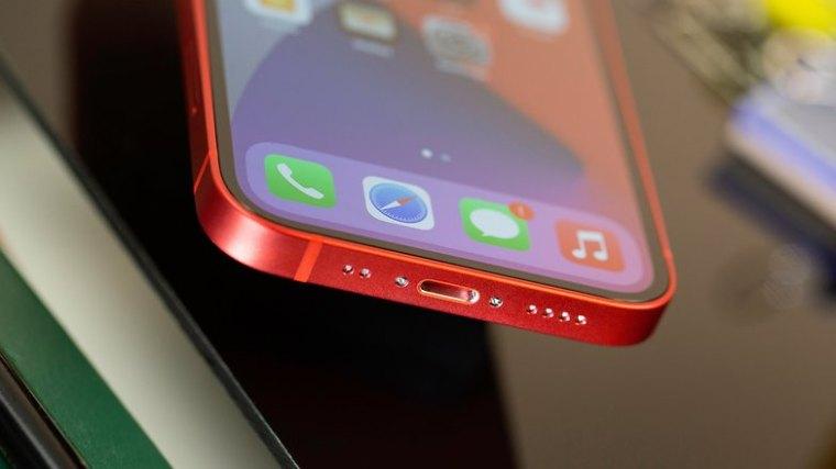 NextPit iPhone 12 Mini usb