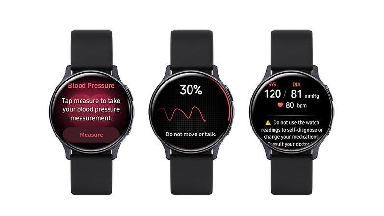 Samsung EKG und Blutdruck