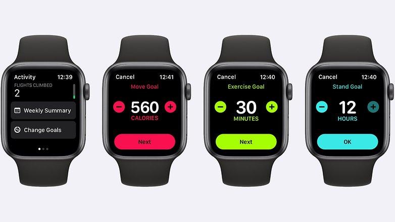 Apple Watch watchOS 7 Activity Rings США