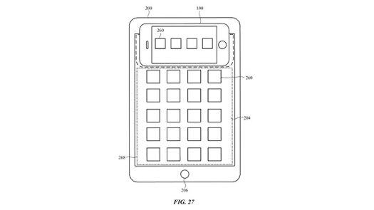 Apple kabelloses Laden iPhone iPad Patent