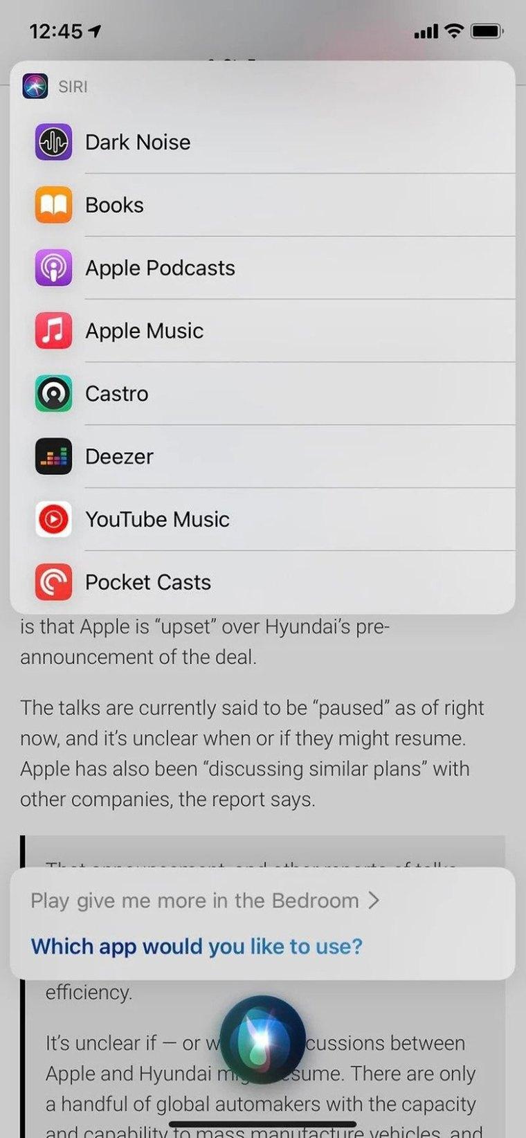 iOS 14.5 SIRI