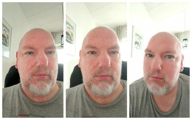 OPPO Find X3 Lite 5G Sample Photo Selfie Normal vs Portrait vs Beautyfilter