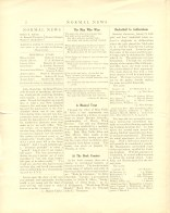Page 2 of the 1916 Normal News