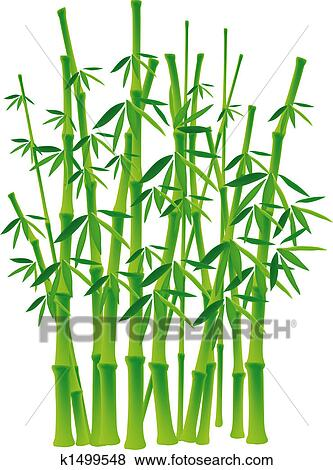 Stock Illustration Of Bamboo Tree K1499548 Search EPS Clip Art Drawings Wall Murals