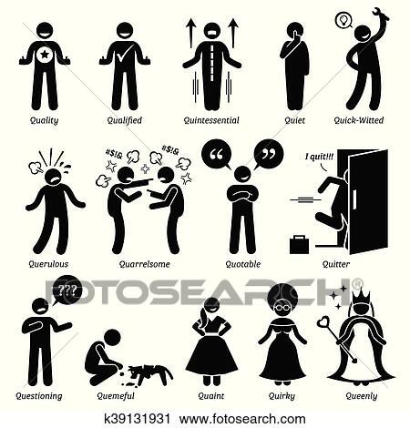 Human Character Traits Clipart | k39131931 | Fotosearch