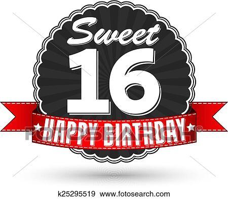 Alles Gute Geburtstag 16 Jahr Glueckwunschkarten Plakat Farbe