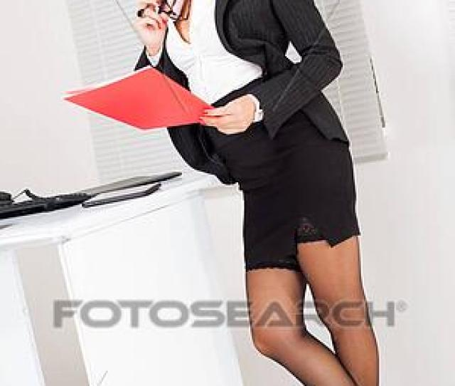 Stock Photograph Sexy Business Woman Fotosearch Search Stock Photography Posters Pictures