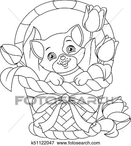 basket coloring page # 74