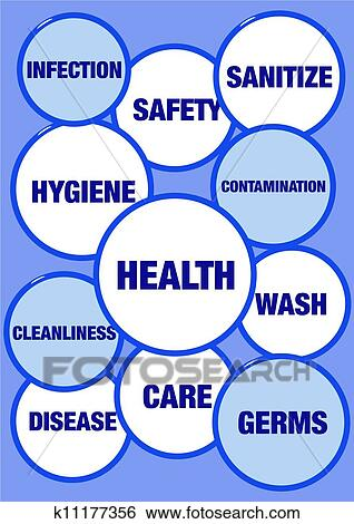 Health And Hygiene Stock Illustration K11177356 Fotosearch