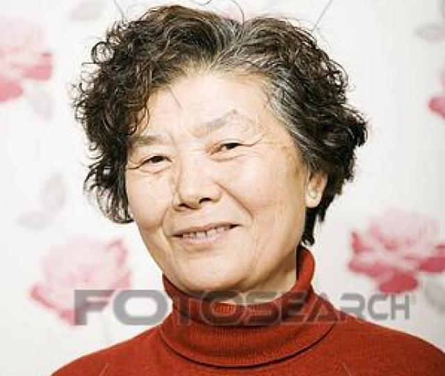 Mature Asian Woman Smiling