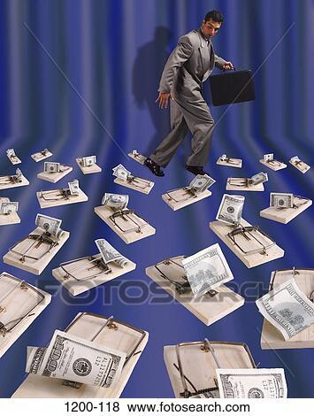 Image - industrie, choix, défis, risque, humour, finance, bourse. Fotosearch - Recherchez des Photos, des Images, des Photographies et des Images Cliparts