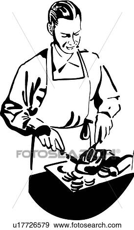 Butcher Clip Art U17726579 Fotosearch