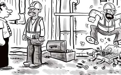 Comic Brake: A Full-Blown Service Tantrum