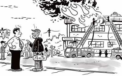 Comic Brake: Fire Sale