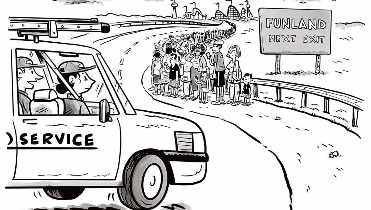 Comic Brake: A Roller Coaster of Emotions
