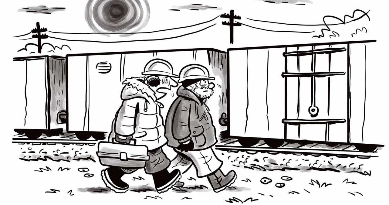 Comic Brake: Occupational Hazards