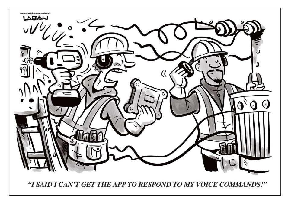 Comic Brake: Voice Commands