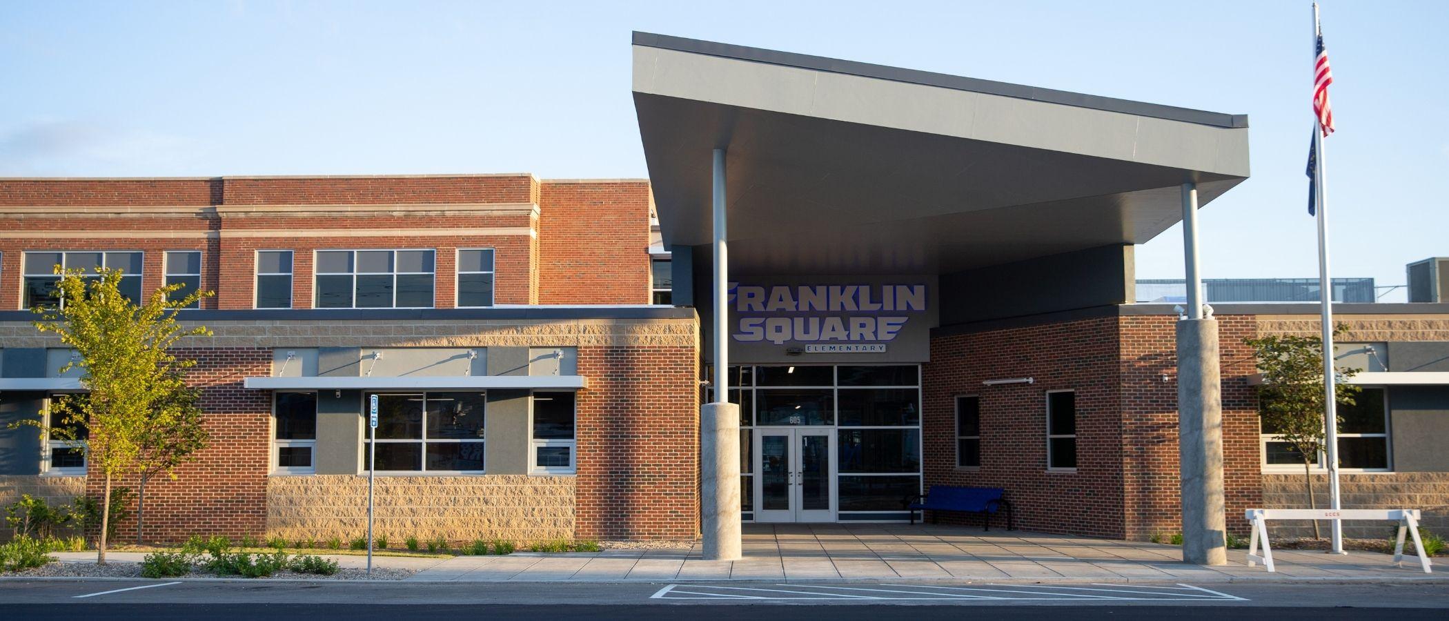 Franklin Square Elementary Entrance image