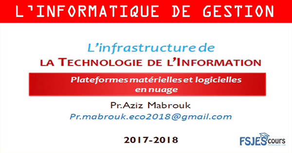 Plateformes matérielles et logicielles en nuage