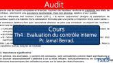 Audit cours Evaluation du contrôle interne