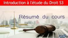 étude du droit