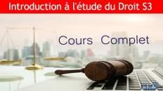 l'étude du droit
