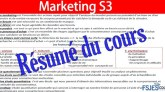 résumé marketing de base