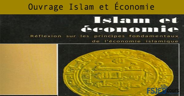 Islam et Économie pdf gratuit