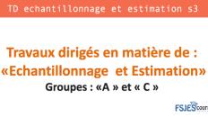 TD echantillonnage et estimation s3