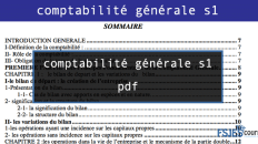 comptabilité générale s1 pdf