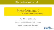 Microéconomie s1 fsjes tetouan