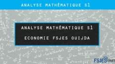 analyse mathématique s1 fsjes oujda