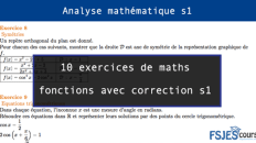maths fonctions avec correction