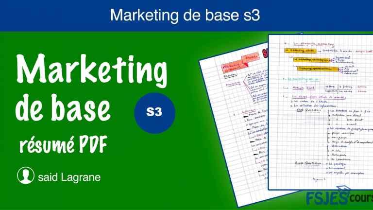 Marketing de base résumé