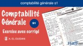Exercice corrigé comptabilité générale s1