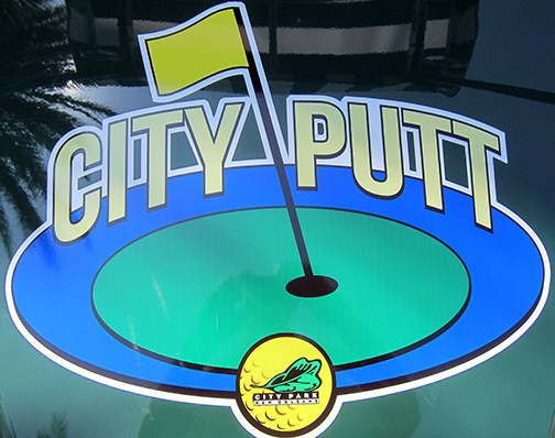 CITY PUTT IN CITY PARK FOR FAMILY FUN