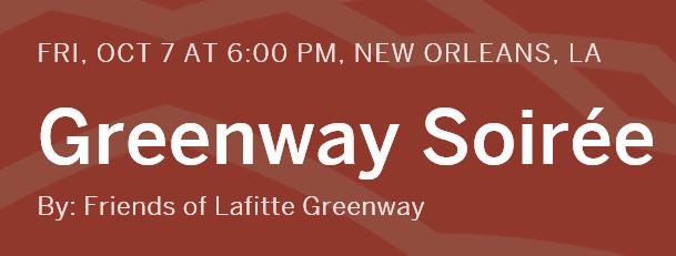 GREENWAY SOIREE OCTOBER 7