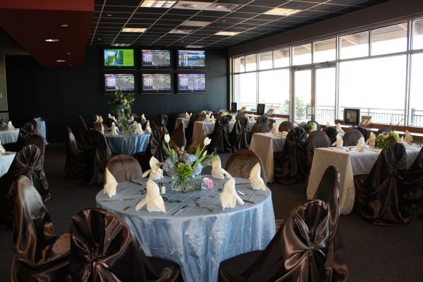 The Black Gold room at Fair Grounds Racecourse and Slots