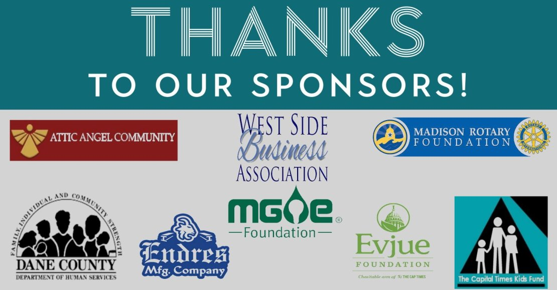 Thanks to our sponsors of 2020
