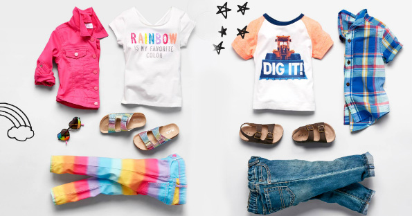 f5e4eaa3be792 Stock up on clothes and accessories for the Kiddies! The Children s Place  currently has 50% off regular prices and 80% off clearance + Free Shipping.