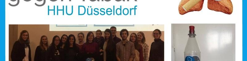 Aufklärung gegen Tabak – Lokalgruppe Düsseldorf