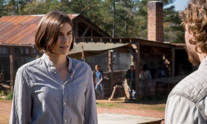 Maggie's changed a lot on'The Walking Dead'.